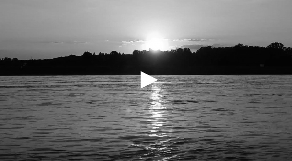 Live Stream: View of the Rhine from the banks of Monheim